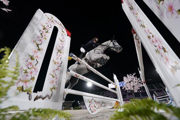 Cuộc đua ngựa vượt chướng ngại vật tại Thế vận hội mùa hè 2020 ở Tokyo - Sputnik Việt Nam