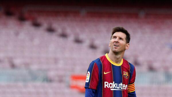 Сầu thủ bóng đá người Argentina Lionel Messi - Sputnik Việt Nam