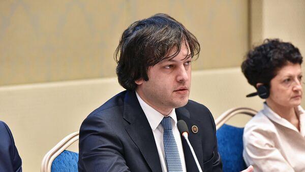 """Người đứng đầu đảng  """"Giấc mơ Gruzia – nước Gruzia dân chủ"""" Irakli Kobakhidze - Sputnik Việt Nam"""