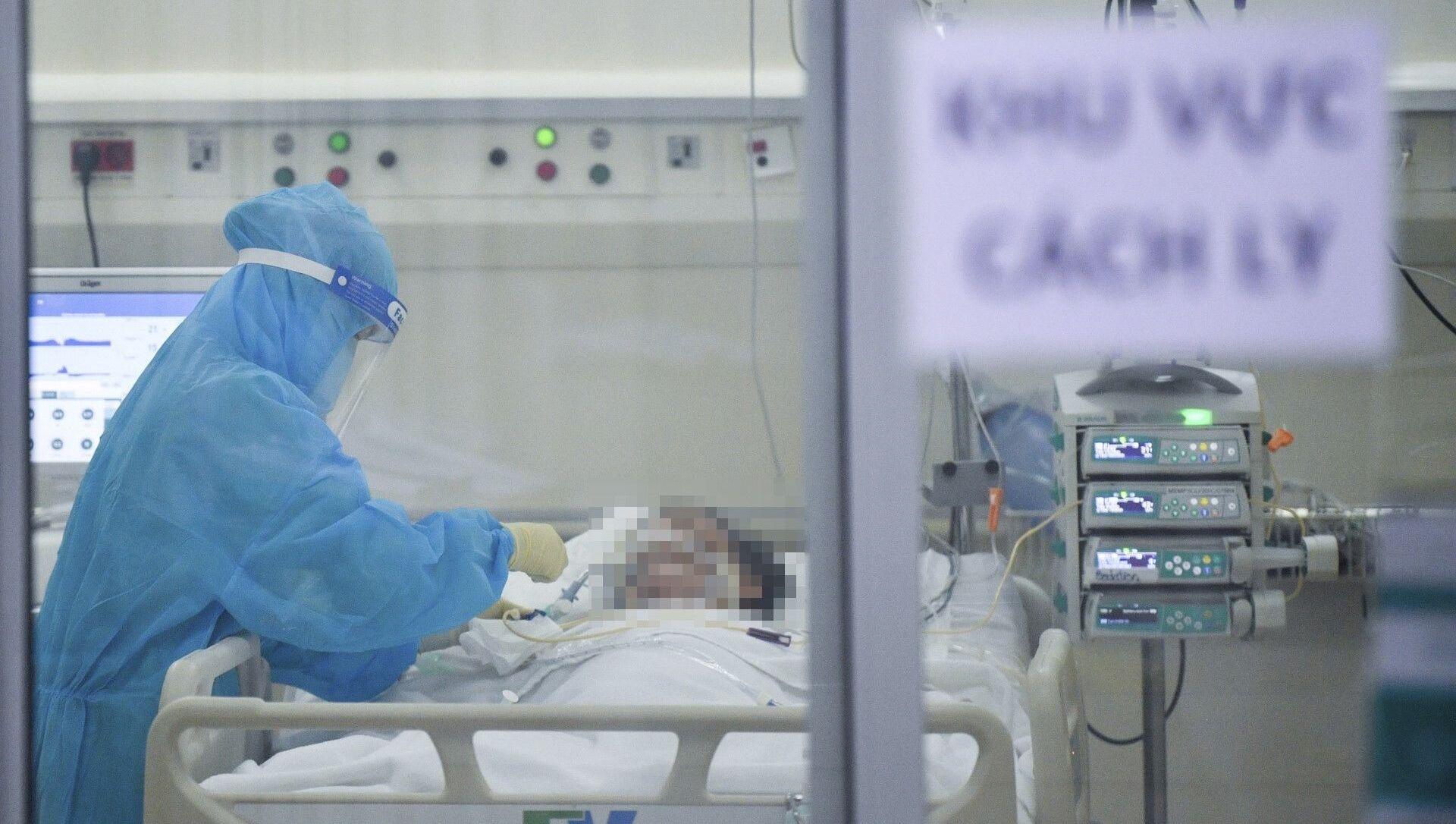 Hệ thống y tế tư nhân tại Thành phố Hồ Chí Minh tích cực tham gia điều trị bệnh nhân COVID-19 - Sputnik Việt Nam, 1920, 07.08.2021