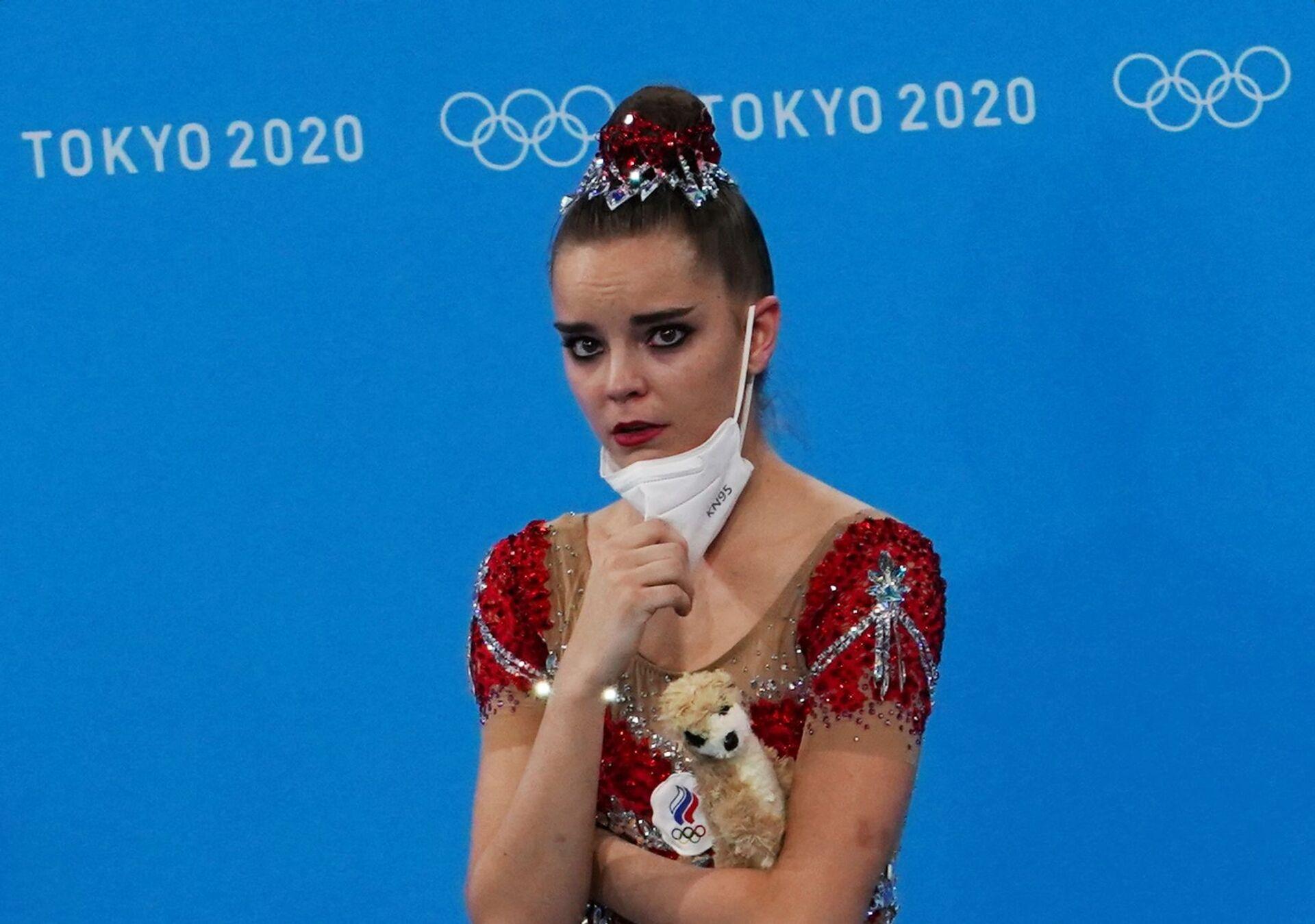 Dina Averina tại Thế vận hội Olympic mùa hè lần thứ XXXII ở Tokyo - Sputnik Việt Nam, 1920, 05.10.2021