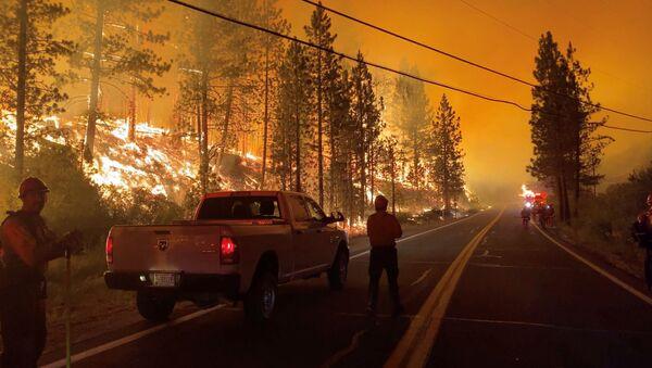 Hỏa hoạn ở California - Sputnik Việt Nam
