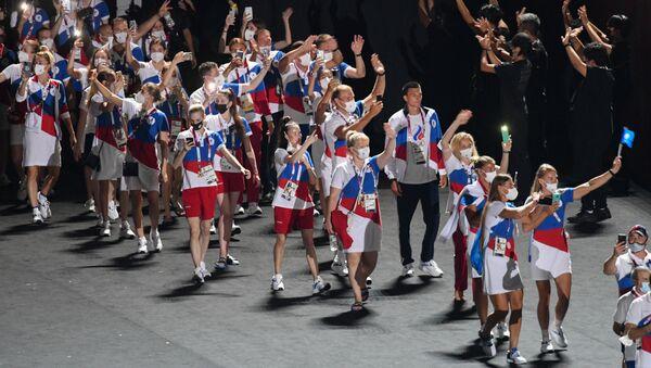 Lễ bế mạc Thế vận hội Olympic mùa hè lần thứ XXXII tại Tokyo - Sputnik Việt Nam