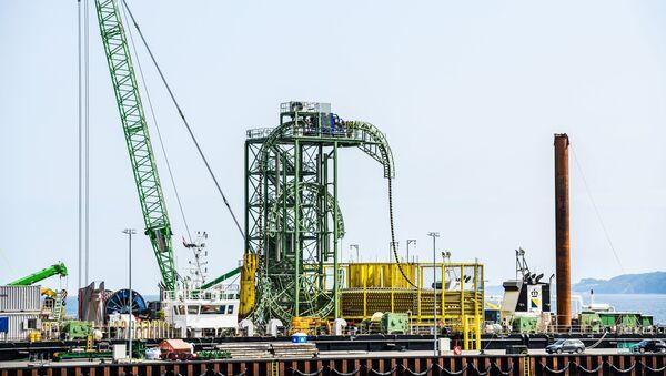 Xây dựng đường ống dẫn khí Nord Stream 2 ở Đức - Sputnik Việt Nam
