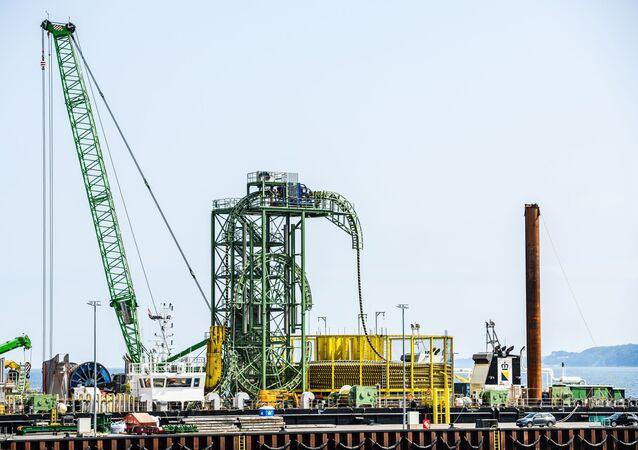 Xây dựng đường ống dẫn khí Nord Stream 2 ở Đức