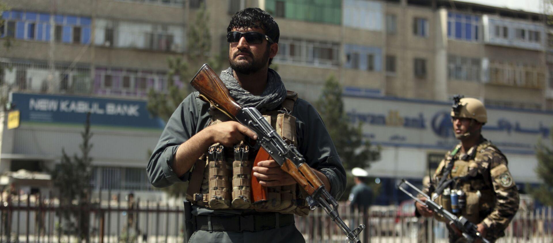 Nhân viên an ninh Afghanistan ở Kabul - Sputnik Việt Nam, 1920, 10.08.2021