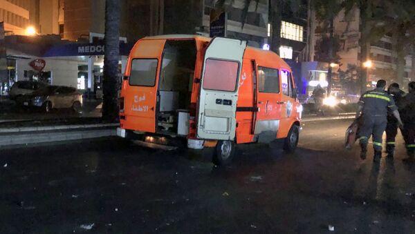Xe cấp cứu ở Beirut, Lebanon - Sputnik Việt Nam