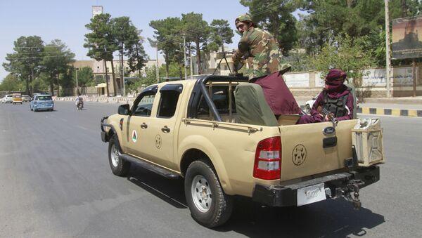 Chiến binh Taliban (Tổ chức khủng bố bị cấm tại Nga) ở Herat, Afghanistan - Sputnik Việt Nam