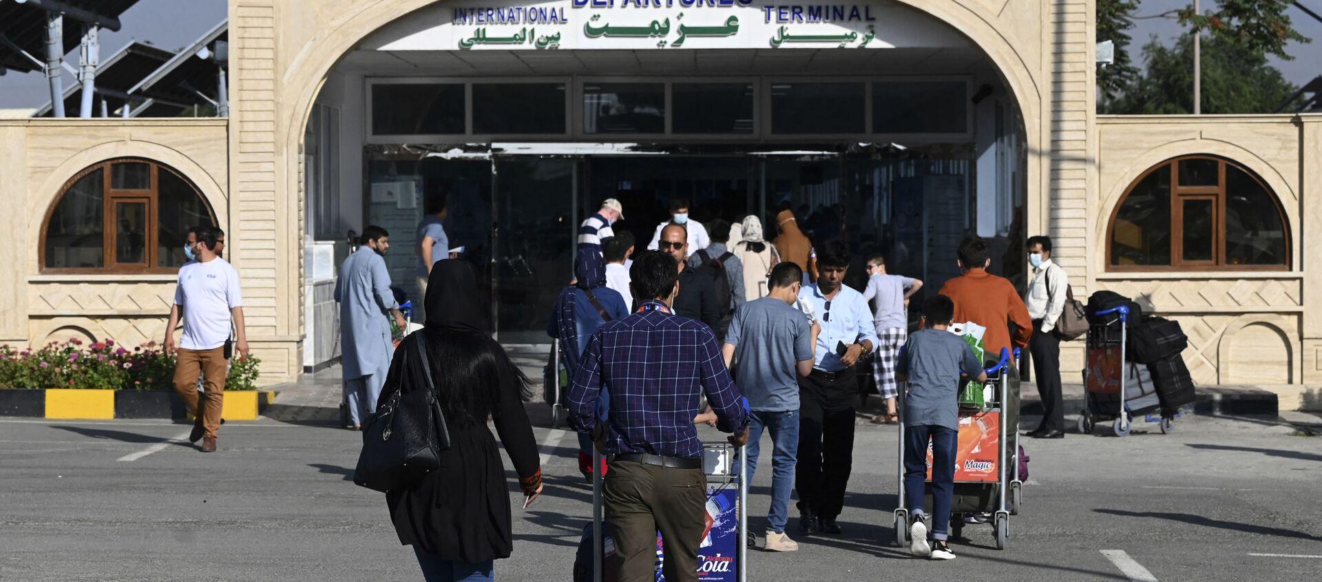 Sân bay quốc tế ở Kabul - Sputnik Việt Nam, 1920, 17.08.2021