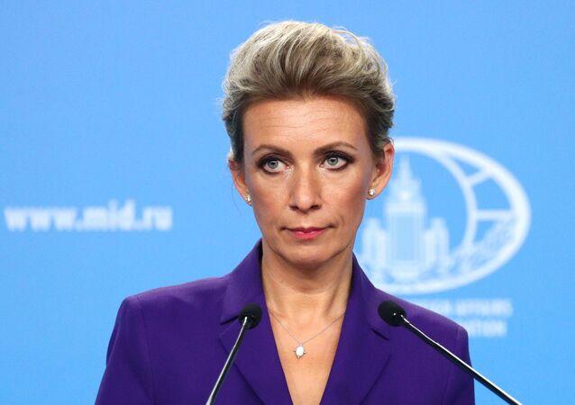 Đại diện chính thức của Bộ Ngoại giao Nga M. Zakharova