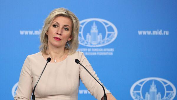 Thông tin tóm tắt của Đại diện chính thức Bộ Ngoại giao Liên bang Nga M. Zakharova - Sputnik Việt Nam