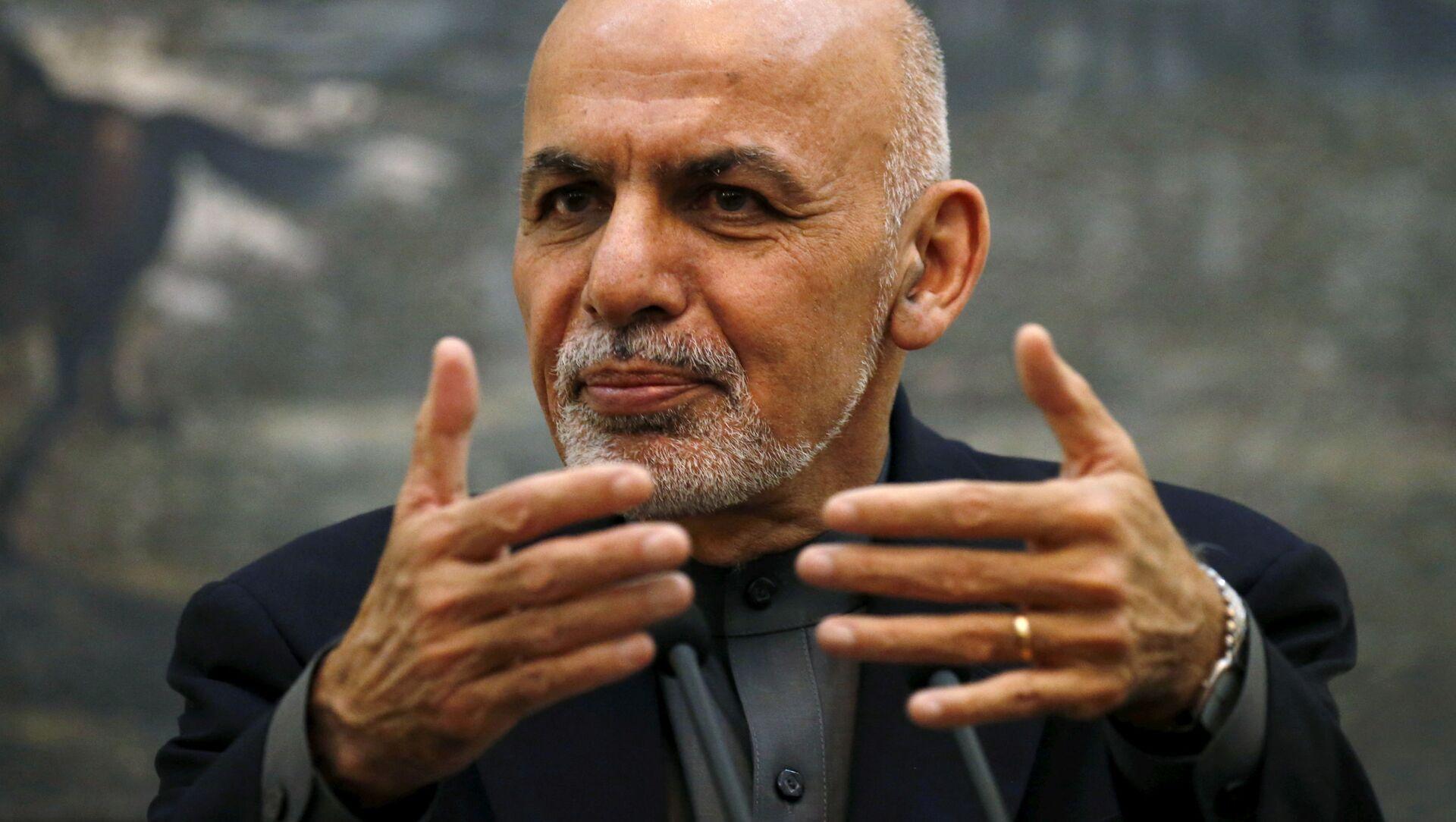 Tổng thống Afghanistan Ashraf Ghani - Sputnik Việt Nam, 1920, 18.08.2021