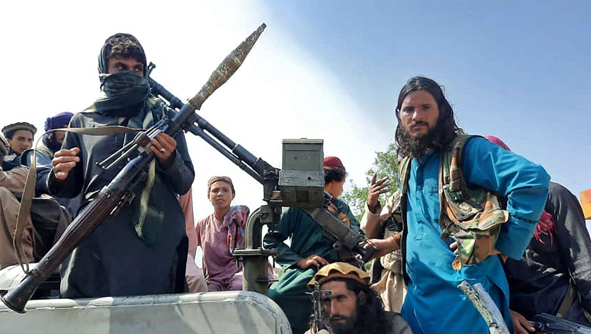 Các chiến binh Taliban * ở tỉnh Laghman, Afghanistan - Sputnik Việt Nam, 1920, 18.08.2021