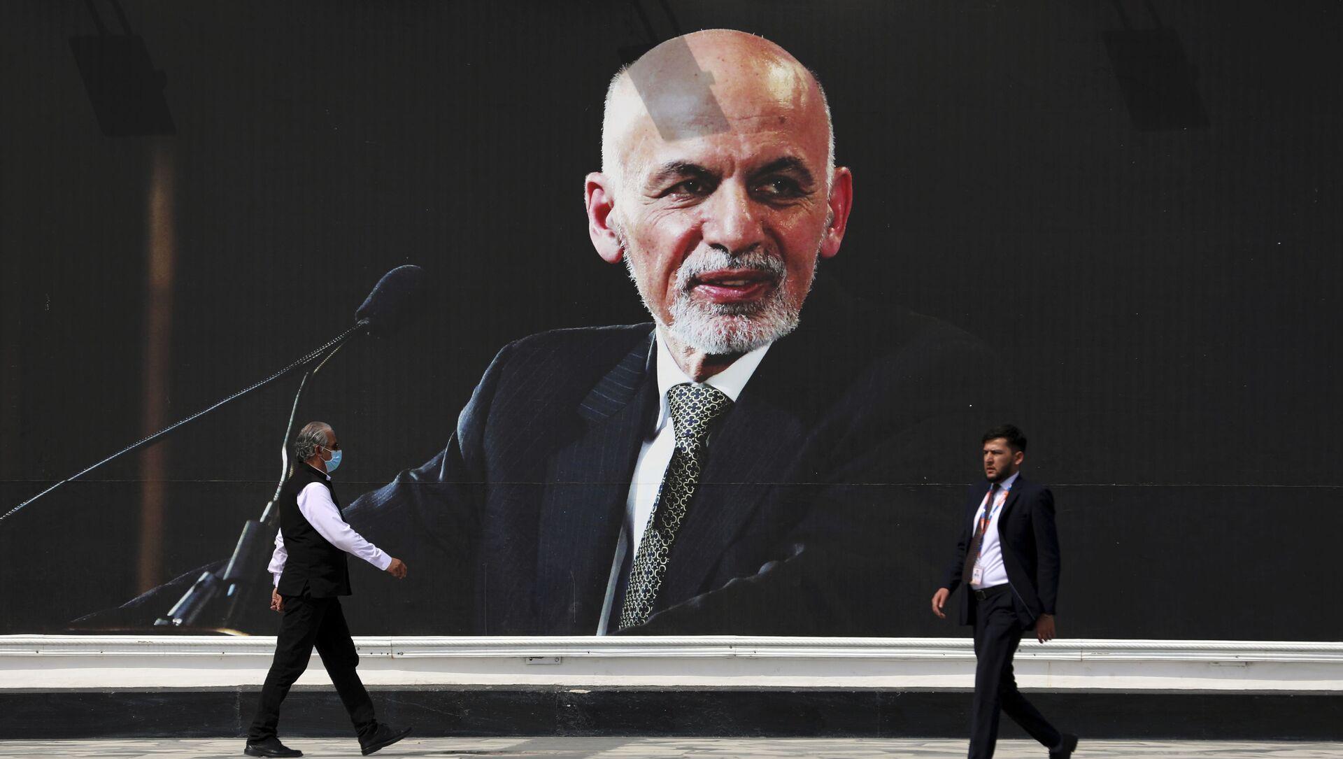 Ảnh chụp Tổng thống Afghanistan Ashraf Ghani tại Sân bay Quốc tế Kabul - Sputnik Việt Nam, 1920, 19.08.2021