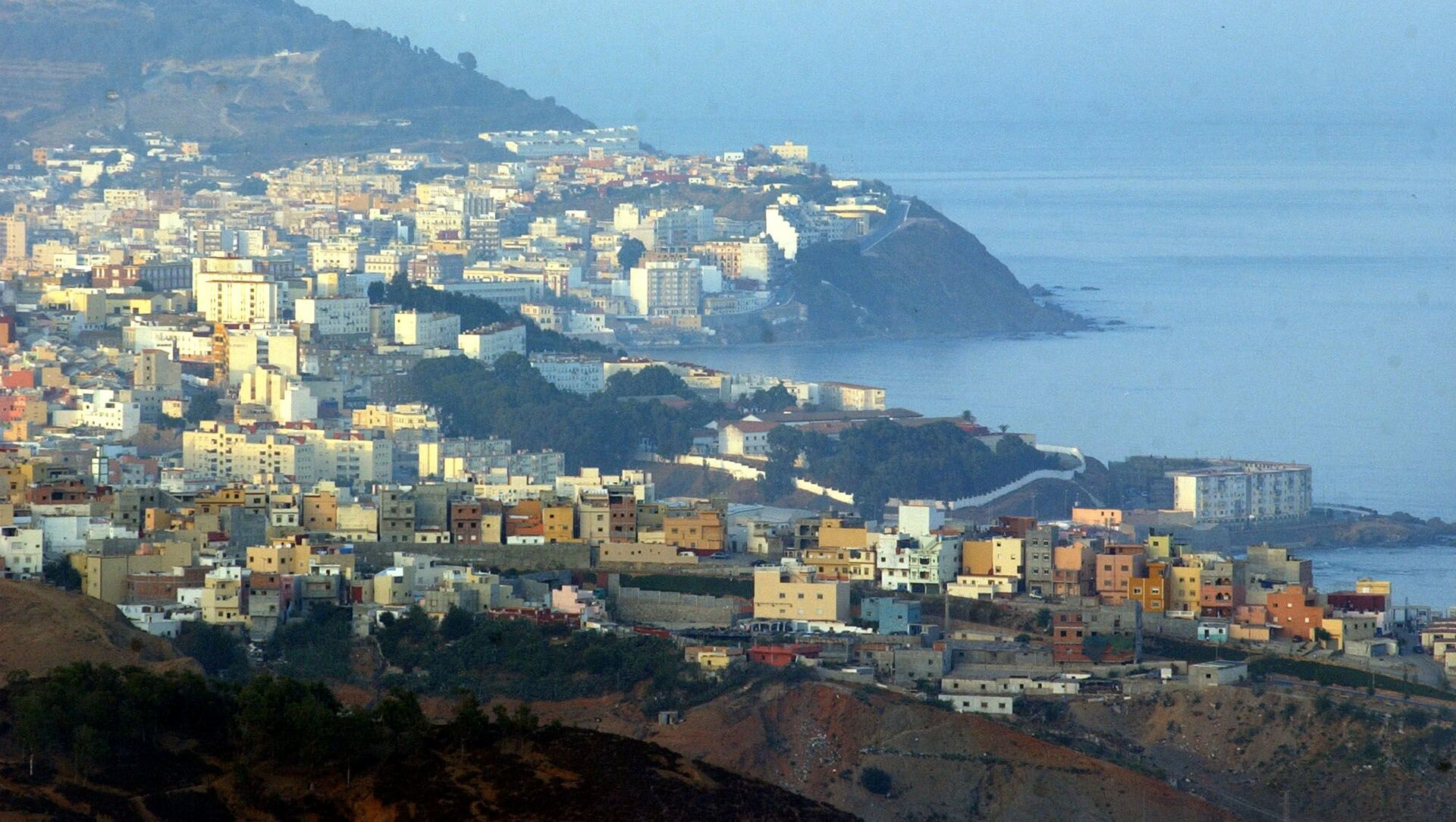 Ceuta, một thành phố tự trị nằm bên bờ biển Bắc Phi, thuộc chủ quyền Tây Ban Nha - Sputnik Việt Nam, 1920, 20.08.2021