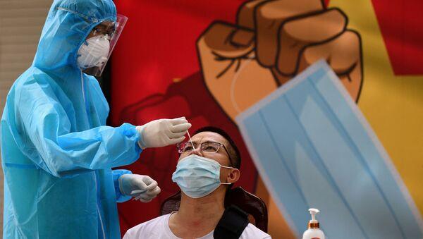 Nhân viên y tế. - Sputnik Việt Nam