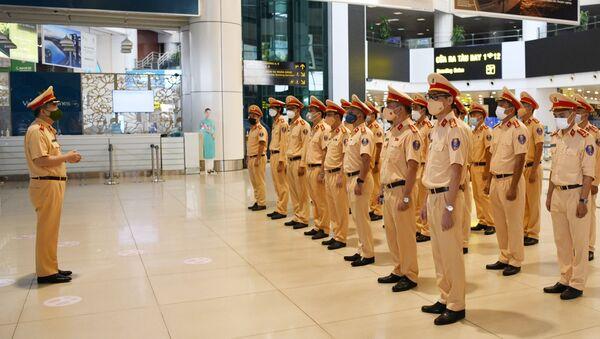 COVID-19: Cục CSGT xuất quân tăng cường chống dịch cho TP Hồ Chí Minh - Sputnik Việt Nam