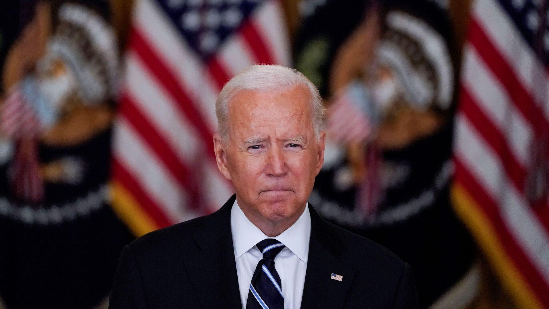 Tổng thống Mỹ Joe Biden phát biểu tại Nhà Trắng - Sputnik Việt Nam, 1920, 29.08.2021