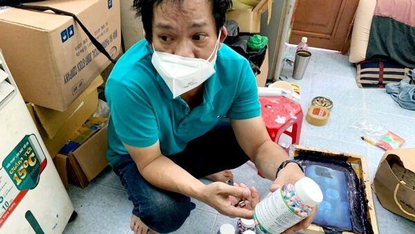 TP Hồ Chí Minh: Triệt phá đường dây buôn bán thuốc điều trị COVID-19 giả - Sputnik Việt Nam