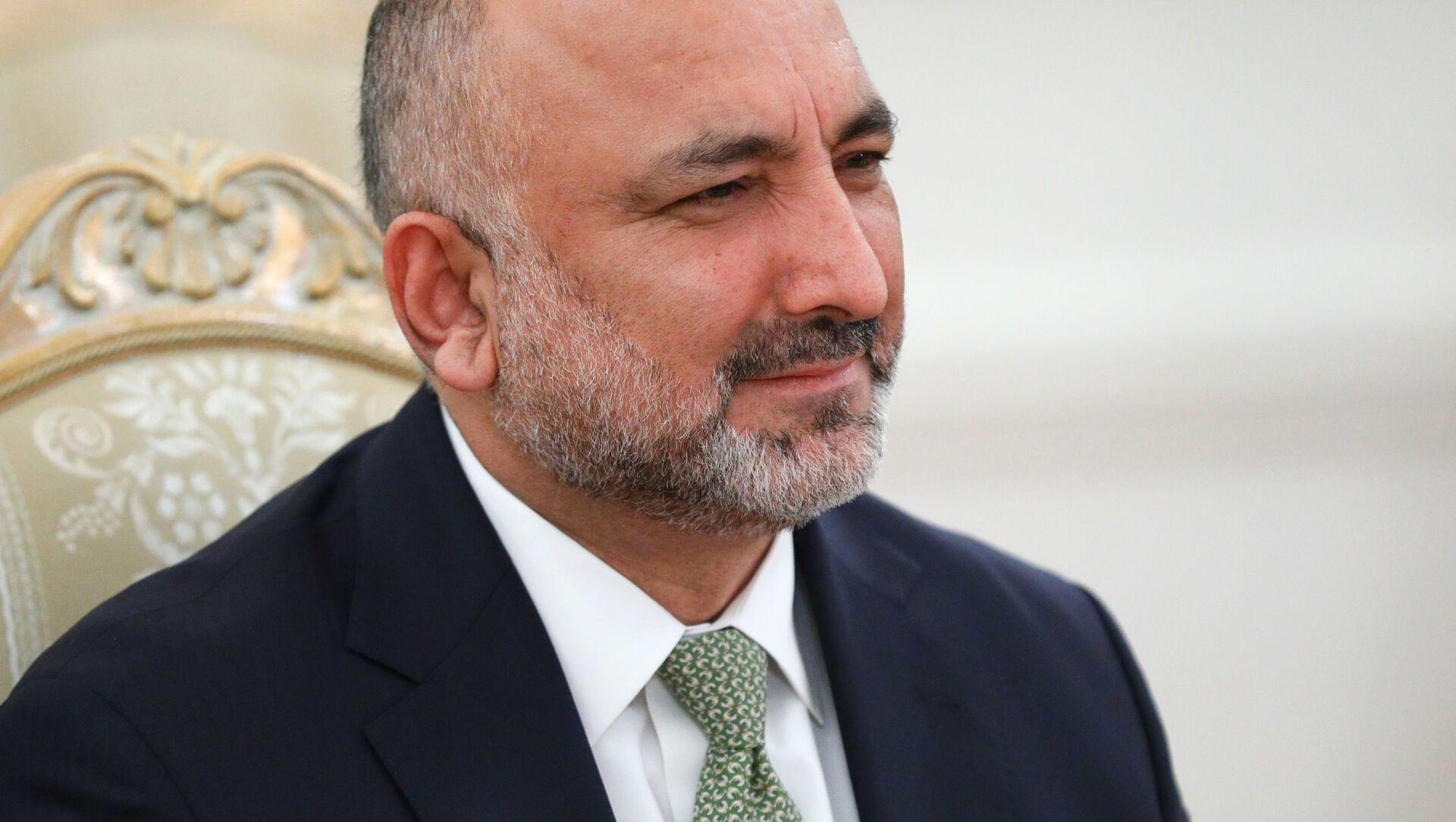 Đứng đầu Bộ Ngoại giao của Afghanistan là Hanif Atmar - Sputnik Việt Nam, 1920, 22.08.2021