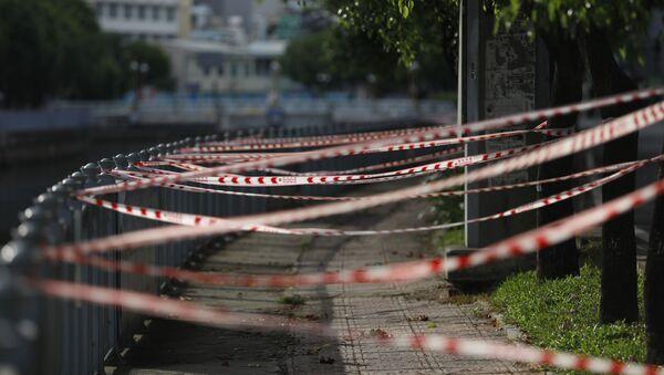 Siết chặt các biện pháp chống coronavirus ở TP Hồ Chí Minh   - Sputnik Việt Nam