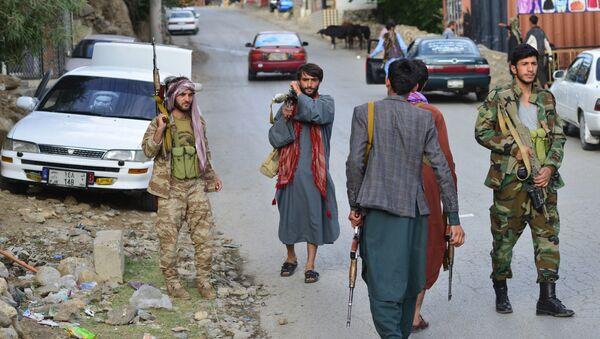 Những người có vũ trang chống lại Taliban * ở tỉnh Panjshir - Sputnik Việt Nam