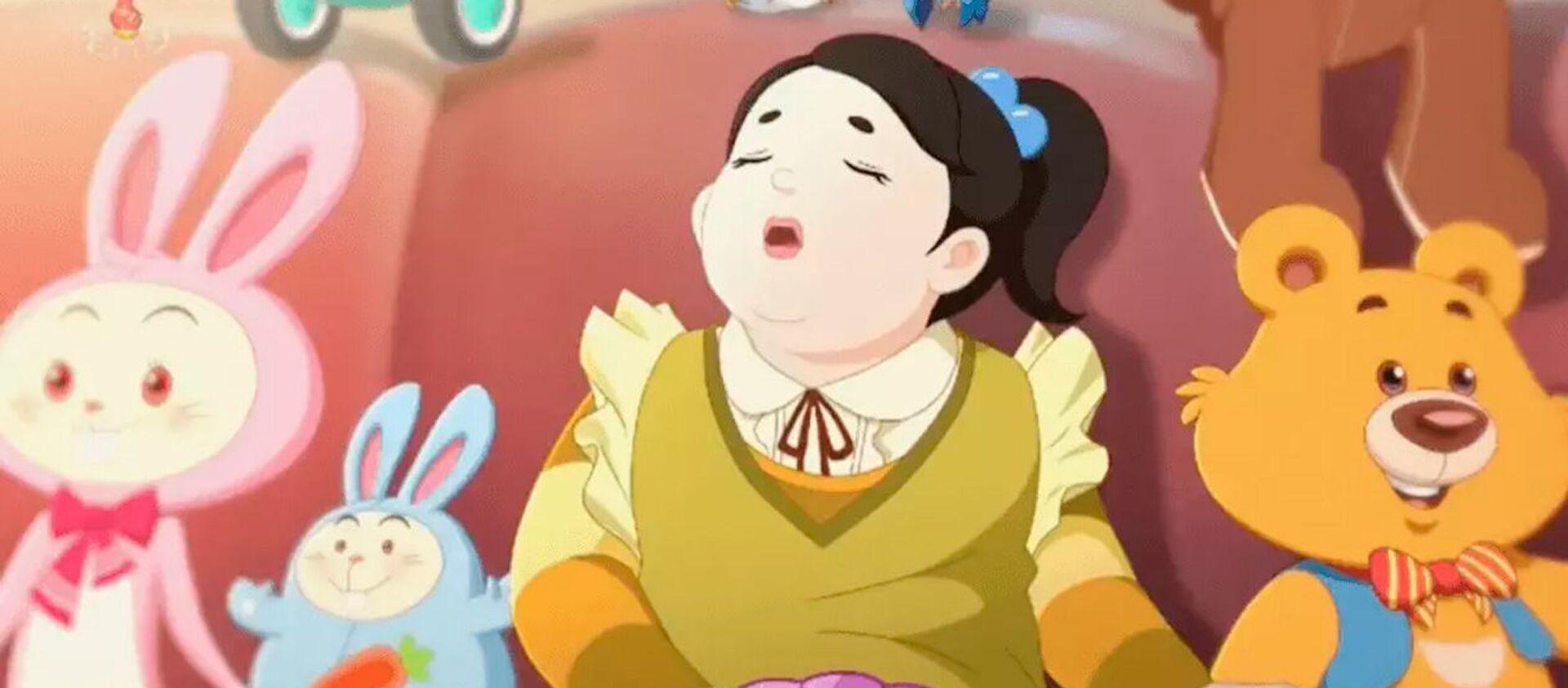 Ảnh tĩnh từ phim hoạt hình KCTV về bệnh béo phì - Sputnik Việt Nam, 1920, 25.08.2021
