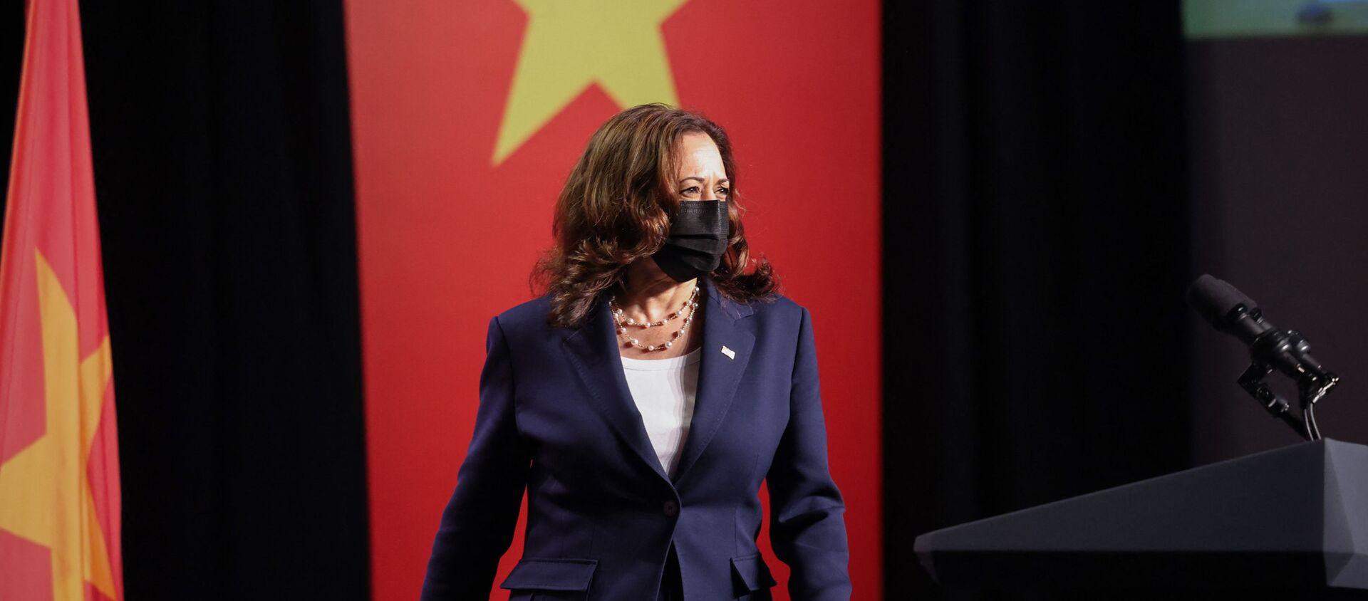 Phó tổng thống Mỹ Kamala Harris. - Sputnik Việt Nam, 1920, 26.08.2021