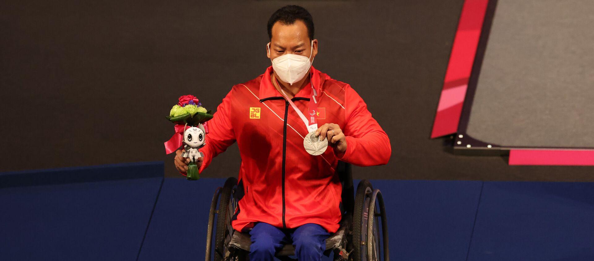 VĐV Lê Văn Công giành HCB ở Paralympic Tokyo. - Sputnik Việt Nam, 1920, 26.08.2021