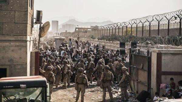 Quân đội Hoa Kỳ tại sân bay Kabul - Sputnik Việt Nam