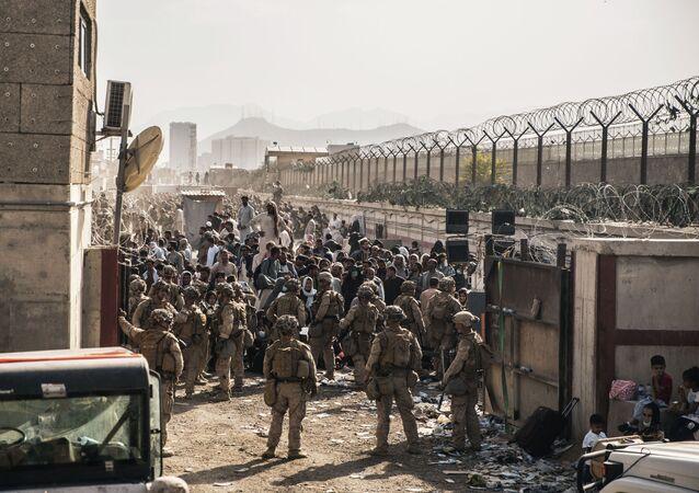 Quân đội Hoa Kỳ tại sân bay Kabul