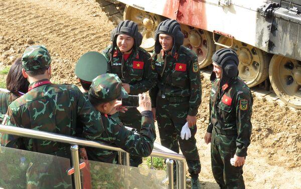 Đội tuyển xe tăng Việt Nam - Sputnik Việt Nam