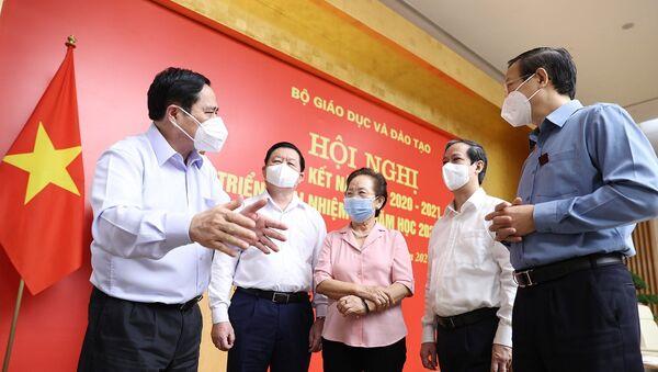 Thủ tướng Phạm Minh Chính với các đại biểu - Sputnik Việt Nam