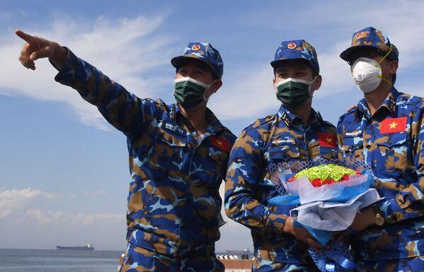 Quân nhân Việt Nam tại cuộc thi Cúp Biển ở Vladivostok trong khuôn khổ Hội thao Quân đội Quốc tế Army Games-2021 - Sputnik Việt Nam