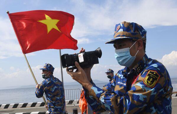 Quân nhân Việt Nam thi đấu Cúp Biển tại Vladivostok trong khuôn khổ Hội thao Quân đội Quốc tế lần thứ VII Army Games-2021 - Sputnik Việt Nam