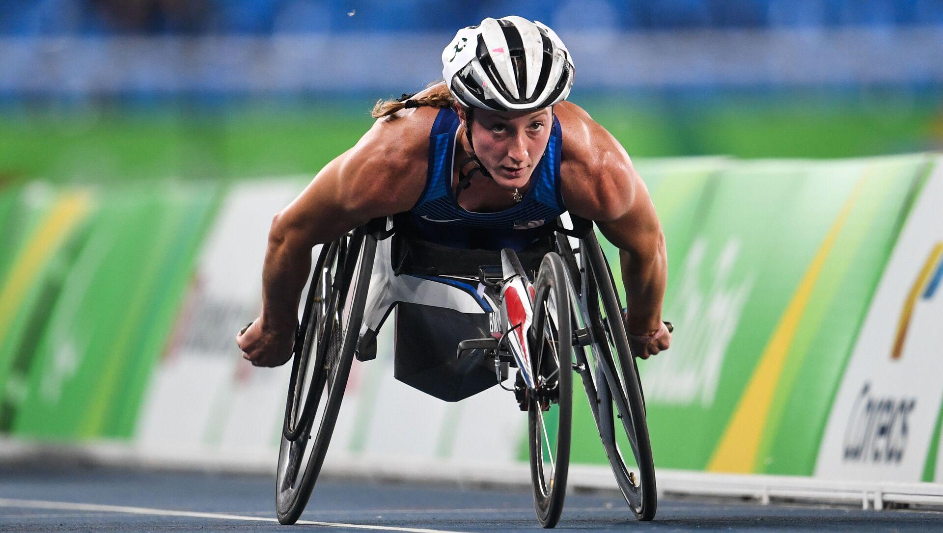 Tatyana McFadden, nhà vô địch Paralympic 18 lần - Sputnik Việt Nam, 1920, 28.08.2021