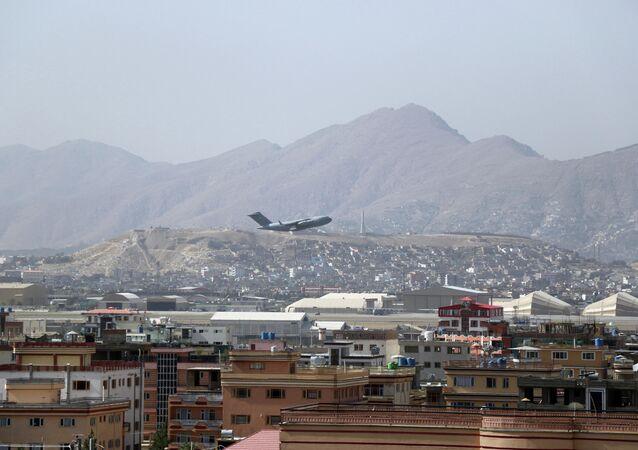 Sân bay quốc tế ở Kabul