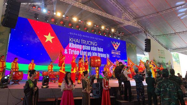Khai mạc Army Games 2021 tại Việt Nam - Sputnik Việt Nam
