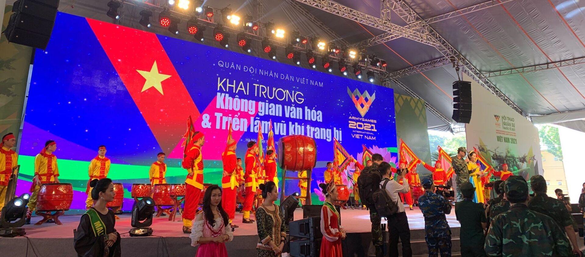 Khai mạc Army Games 2021 tại Việt Nam - Sputnik Việt Nam, 1920, 31.08.2021