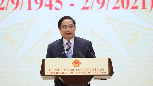 Thủ tướng Phạm Minh Chính chủ trì Lễ kỷ niệm 76 năm Quốc khánh 2-9 - Sputnik Việt Nam