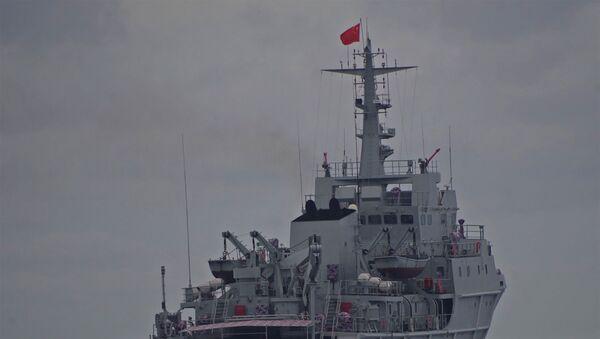 Tàu Hải quân Trung Quốc. - Sputnik Việt Nam
