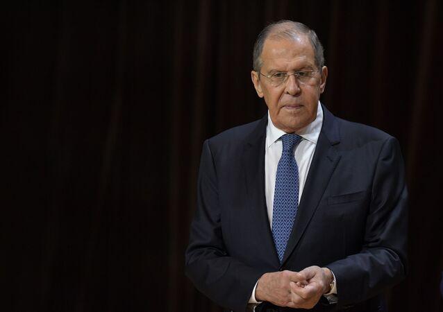 Bộ trưởng Ngoại giao Nga Sergei Lavrov