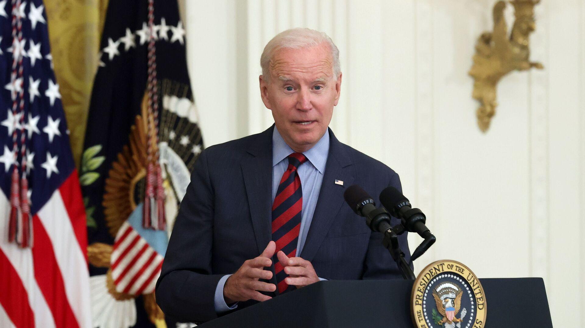 Tổng thống Hoa Kỳ Joe Biden - Sputnik Việt Nam, 1920, 02.09.2021