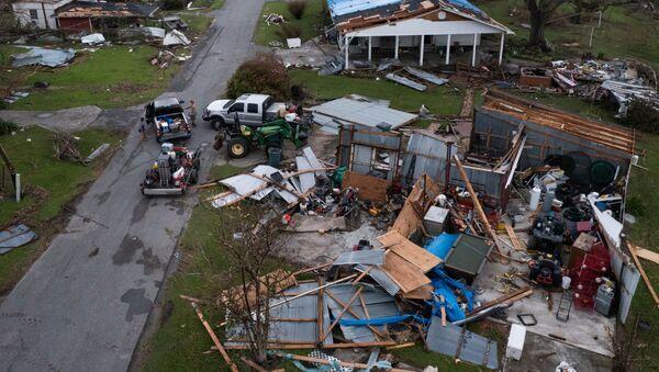 Những ngôi nhà bị tàn phá sau cơn bão Ida ở bang Louisiana - Sputnik Việt Nam
