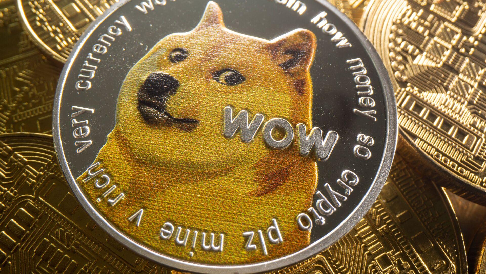 Tiền điện tử Dogecoin - Sputnik Việt Nam, 1920, 03.09.2021