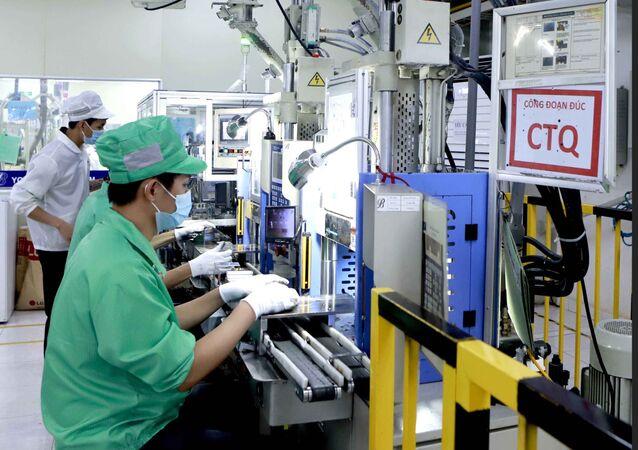 Công ty Youngbag Việt Nam Khu công nghiệp Bình Xuyên, Vĩnh Phúc là doanh nghiệp 100% vốn Hàn Quốc.