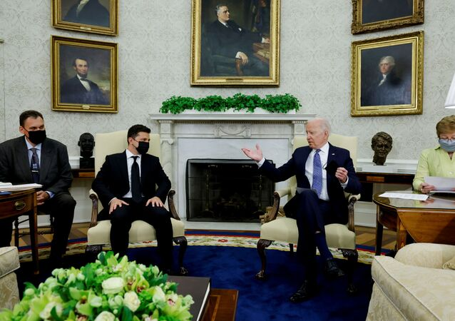 Cuộc gặp gỡ của Biden và Zelensky