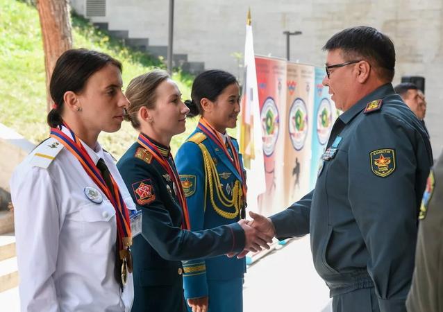 Lễ tổng kết cuộc thi quốc tế Chiến sĩ hòa bình trong khuôn khổ Army Games-2021 tại Armenia