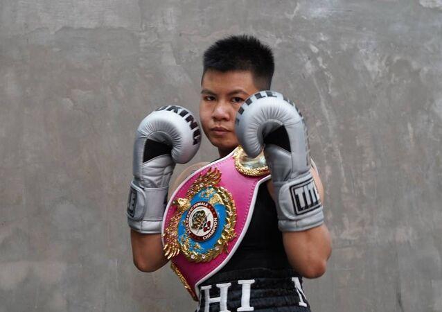 Nguyễn Thị Thu Nhi là nữ võ sĩ quyền anh Việt Nam đầu tiên tạo nên kỳ tích Boxing khi giành đai vô địch WBO Châu Á - Thái Bình Dương ở hạng cân nhẹ.