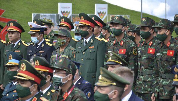 Đoàn Việt Nam tham dự Army Games-2021 - Sputnik Việt Nam